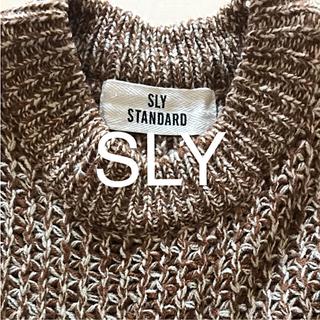 スライ(SLY)のSLY ニットワンピース(ニット/セーター)