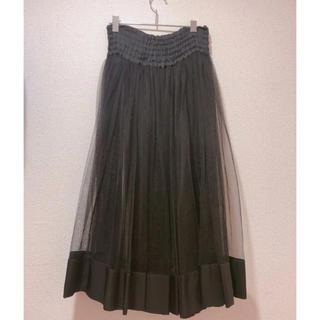 リミフゥ(LIMI feu)のリミフゥ☆チュールスカート(ロングスカート)