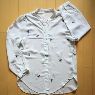 ゴゴシング(GOGOSING)の花柄 刺繍 シャツ トップス(シャツ/ブラウス(長袖/七分))