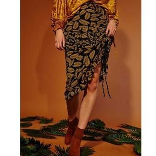 GHOSPELL Paradise Midi Skirt(ひざ丈スカート)
