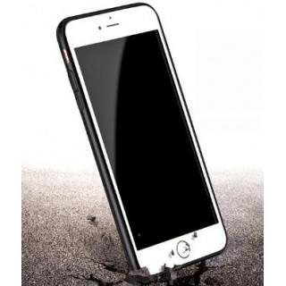 新品・激安!iphone7 360°保護 軽量 ソフトケース クリア バンパー黒(iPhoneケース)