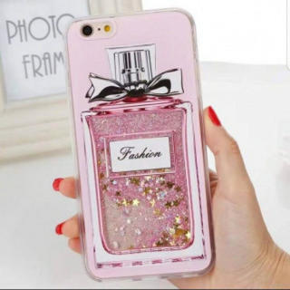 流れる!! かわいい 香水♡デザイン iphone ケース おすすめ(iPhoneケース)