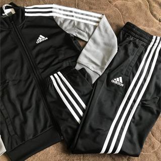 adidas - adidas アディダス キッズ ジャージ セットアップ 130