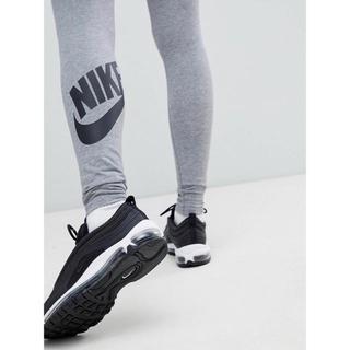 【Sサイズ 】新品タグ付き Nike レッグアシー ロゴ レギンス グレー
