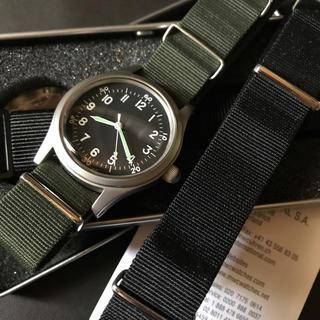 ハミルトン(Hamilton)の美品 USED MWC A-11 自動巻 phoenix nato ミリタリー (腕時計(アナログ))