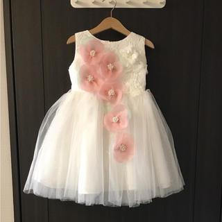 キャサリンコテージ(Catherine Cottage)の発表会 結婚式 フラワーガール ドレス DRESCCO サイズ7(ドレス/フォーマル)