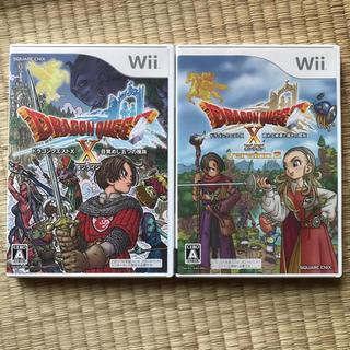 ウィー(Wii)のディスク無傷 Wii ドラゴンクエストX (家庭用ゲームソフト)