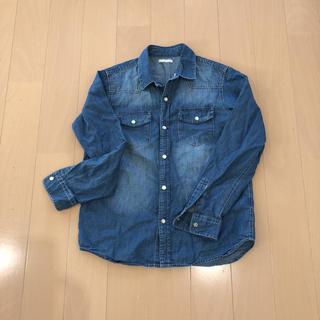 GU - ジーユーデニムシャツ150