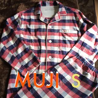 ムジルシリョウヒン(MUJI (無印良品))の❤️MUJI メンズフランネルブロックチェックパジャマ   S(その他)