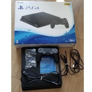 PlayStation4 - PlayStation®4 ジェット・ブラック 500GB CUH-2100A