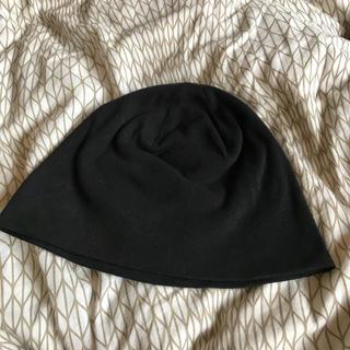 カシラ(CA4LA)のニット帽 黒 カシラ(ニット帽/ビーニー)