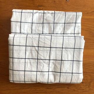 MUJI (無印良品) - 無印良品 掛け布団カバー シングルサイズ×2枚