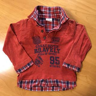 ドンキージョシー(Donkey Jossy)の長袖カットソーシャツ size 95(Tシャツ/カットソー)