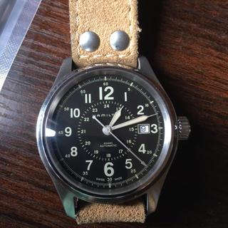 ハミルトン(Hamilton)のハミルトンカーキ(腕時計(アナログ))