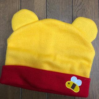 ディズニー(Disney)のdisney くまのプーさん ニット帽(ニット帽/ビーニー)
