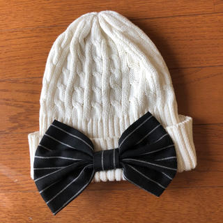 ディアブル(Diable)のDiable☆リボンニット帽(帽子)