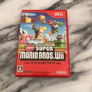 ウィー(Wii)のWii  ニュー・スーパーマリオブラザーズ・wii (家庭用ゲームソフト)