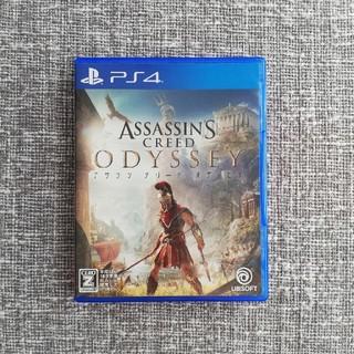 PS4 美品 アサシンクリードオデッセイ 初回特典あり(家庭用ゲームソフト)