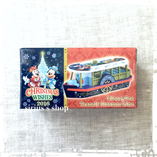 ディズニー(Disney)の新品 TDS ディズニー クリスマス トミカ トランジットスチーマーライン(ミニカー)