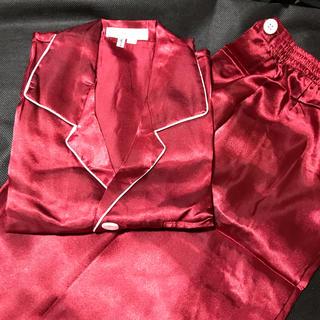 メンズ シルク100% 絹 パジャマ(パジャマ)