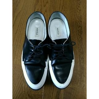 エンフォルド(ENFOLD)のENFOLD エンフォルド レースアップシューズ 革靴 37 23.5cm(ローファー/革靴)