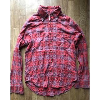 カトー(KATO`)のKATO' チェックシャツ メンズSサイズ(シャツ)