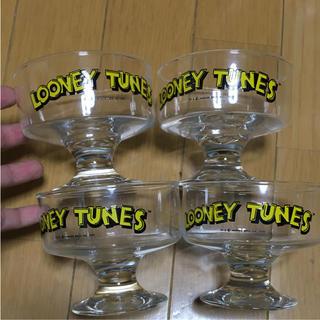 ディズニー(Disney)のルーニーテューンズ  ガラス 器 食器 レトロ(食器)