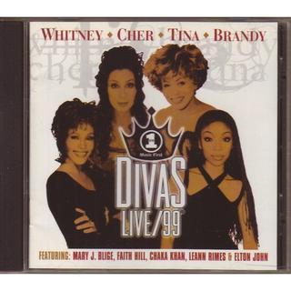 Divas Live 1999 Whitney Cher Tina Brandy(R&B/ソウル)