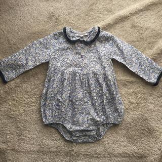 Caramel baby&child  - caramel baby&child リバティ 花柄 ロンパース 18m