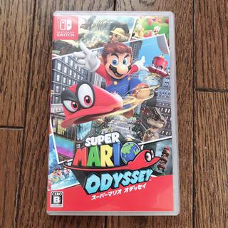 ニンテンドースイッチ(Nintendo Switch)のスーパーマリオオデッセイ ソフト(家庭用ゲームソフト)