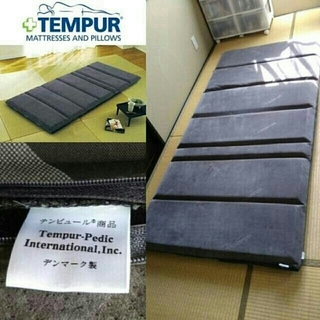 TEMPUR - 大人気商品 TEMPUR テンピュール フトン デラックス ほぼ 未使用品