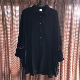 ハレ(HARE)のHARE BIGシャツ 黒(シャツ/ブラウス(長袖/七分))