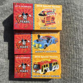 Disney - 3台❤️新品*ディズニー  ミッキー  90周年  トミカ セット