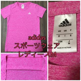 アディダス(adidas)の未使用♡アディダス Tシャツ レディース M(トレーニング用品)