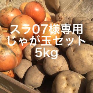 北海道とかちニシボふぁ〜む じゃがたまセット5kg(野菜)