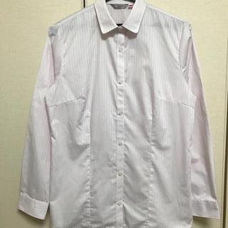 アオキ(AOKI)のAOKI 形態安定加工長袖シャツ 替ボタン付(シャツ/ブラウス(長袖/七分))