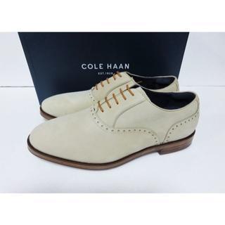 コールハーン(Cole Haan)の新品 COLE HAAN HAMILTON GRND PLN OX 9 ヌバック(ドレス/ビジネス)