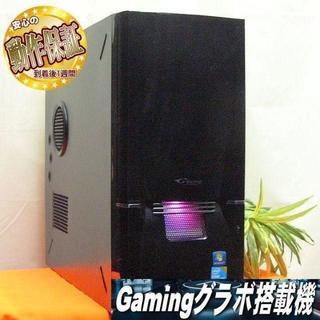 GTX760+i7搭載☆R6S/フォートナイトOKピアノブラックゲーミング(デスクトップ型PC)