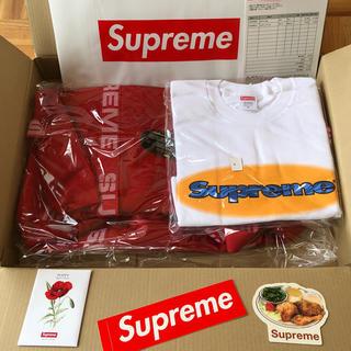 シュプリーム(Supreme)のSupreme / Duffle Bag & Ripple L ong  Tee(ボストンバッグ)
