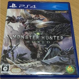 プレイステーション4(PlayStation4)の☆モンスターハンターワールド☆(家庭用ゲームソフト)