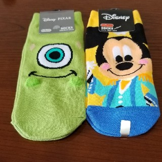 ディズニー(Disney)のキャラクター靴下2足 新品(ソックス)