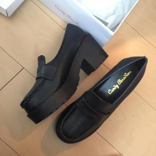 ローファーパンプス厚底(ローファー/革靴)