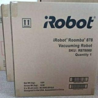 アイロボット(iRobot)の値下げ3台【新品未開封】 ルンバ878  2018年9月発売(掃除機)