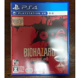 プレイステーション4(PlayStation4)のPS4 バイオハザード7 グロテスクバージョン(家庭用ゲームソフト)