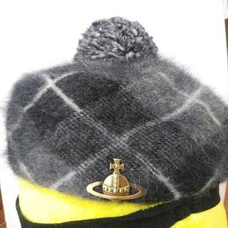 ヴィヴィアンウエストウッド(Vivienne Westwood)のVivian 帽子(ハンチング/ベレー帽)