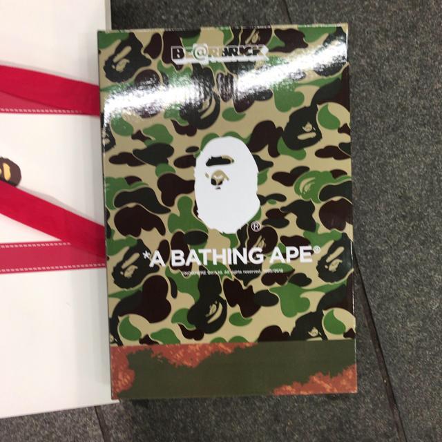A BATHING APE(アベイシングエイプ)のBE@BRICK READYMADE ✕ A BATHING APE® エンタメ/ホビーのフィギュア(その他)の商品写真