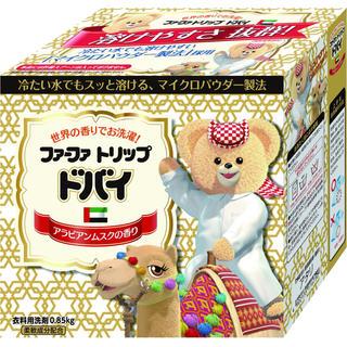 ファーファー(fur fur)のファーファコンパクト洗剤 ドバイ 0.85kg×7(洗剤/柔軟剤)