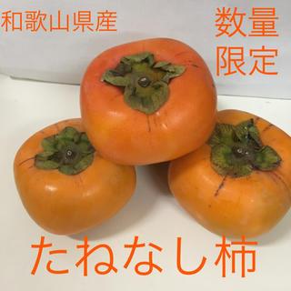 和歌山産 たねなし柿ご家庭用 7.5キロ