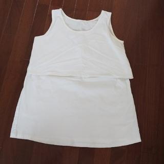 アカチャンホンポ(アカチャンホンポ)の授乳服 タンクトップ LL マタニティー 白 シャツ インナー ベネッセ(マタニティトップス)