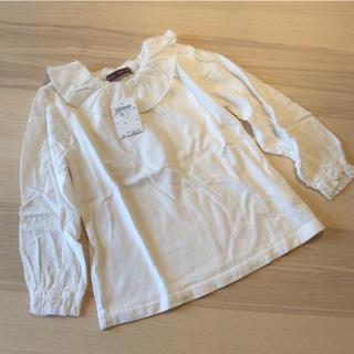 スタジオミニ(STUDIO MINI)のスタジオミニ ブラウス カットソー 100サイズ(Tシャツ/カットソー)